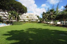 Beautiful grounds at Palm Beach