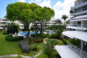 The mature lush gardens of Palm Beach