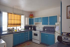 Kitchen with ample storage