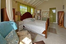 Master bedroom with en suite bathroom and walk in closet