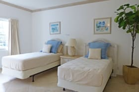 Guest Bedroom with double beds