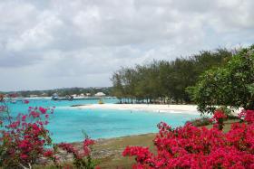Beach close to property