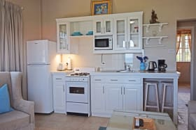 Open Plan equipped kitchen