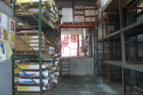 View of warehouse