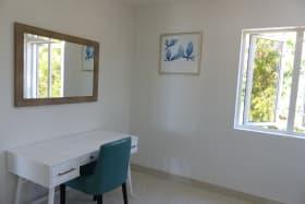 Desk area in Second Bedroom