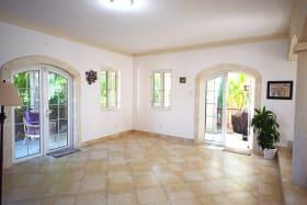 Living area leading to Wrap Around Patio
