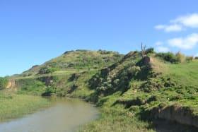 Estuary runs through the Eastern boundary
