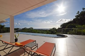 Sea Views from the Pool Deck