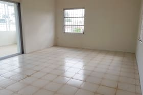 Large rooms with patio