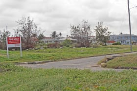 Another view of lot