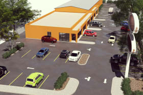 Town Planning Approvals in place for a strip mall