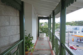 Front Entrance and Street
