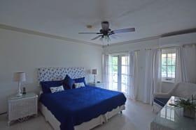 Bedroom leads onto the balcony