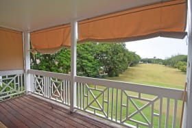 Large Patio overlooking the golf course
