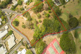 Aerial view of the Rockley Luxury Villas Site