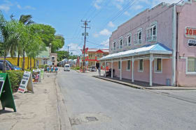 Speightstown streescape
