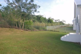 Spacious and fully fenced back garden