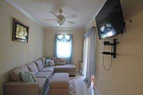 Upstairs TV area