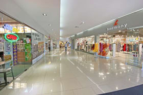 Wide range of stores