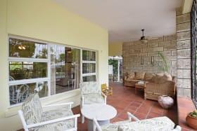 Enclosed veranda