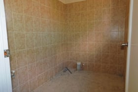 Shell space for bathroom facilities (Sink and Toilet provided)