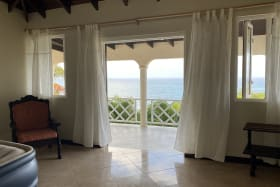 Master suite enjoys direct sea views