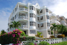 Beach view of Indramer Apartments