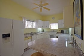 Spacious and breezy kitchen