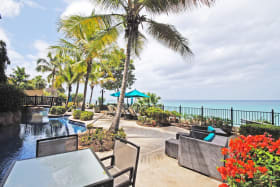 Sandy Cove swimming pool terrace