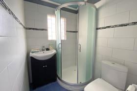 Bathroom 2 with walk in shower