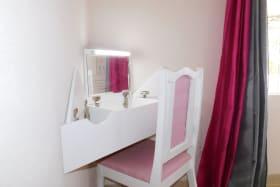 Small desk area