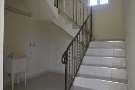 Stairwell to upper level