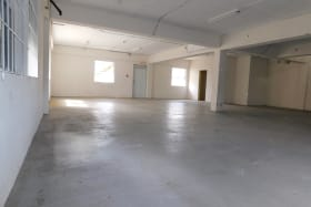 Warehouse space on the ground floor