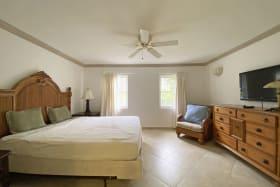 Master Suite with walk in closet and en suite bathroom