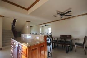 Open plan dining / kitchen area