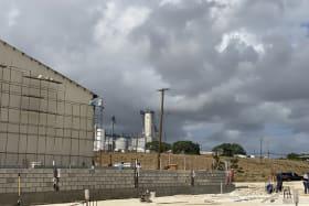 Warehouse Partition Walls under construction