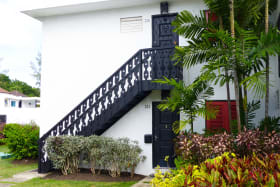 Entrance to the unit