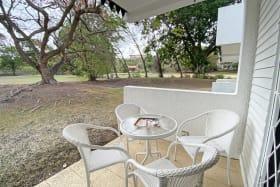 Views from garden level terrace