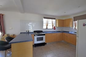 Spacious and near kitchen