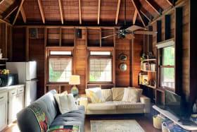 Open plan kitchen and living area - Upper floor