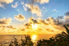 Stunning sunrise views