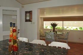 Breakfast area from kitchen