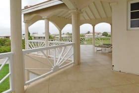 Large Upstairs Patio