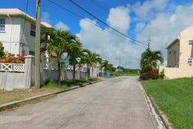 Houses as you enter the development