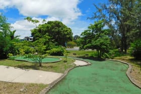 Various Golf Greens