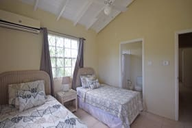 Guest bedroom with single beds