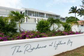 Main entrance to Lighthouse Bay Barbados