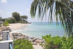 Boardwalk and beach close by bordering the Beach CLub