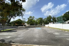 Ample parking