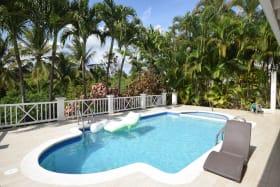 Pool Deck & Garden